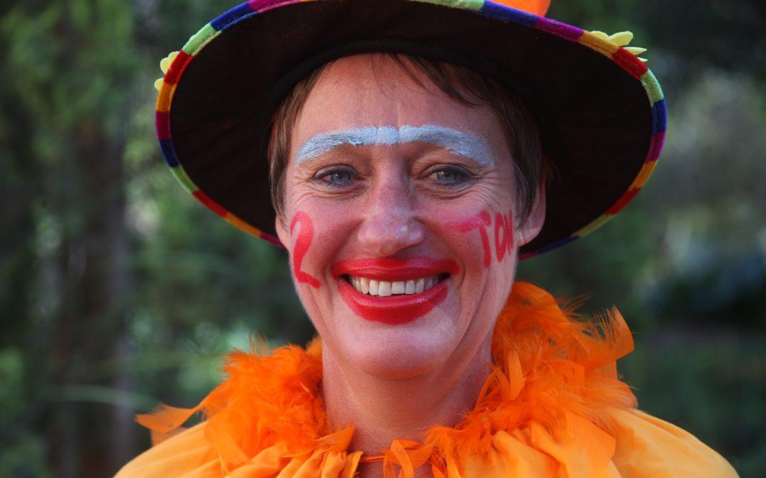 Hoof word oranje vir klereprojek